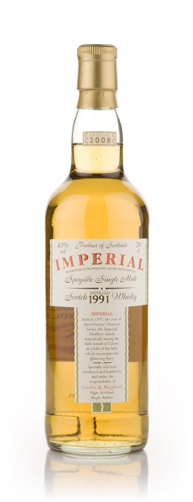 Imperial 1991 - Gordon and MacPhail Single Malt Whisky
