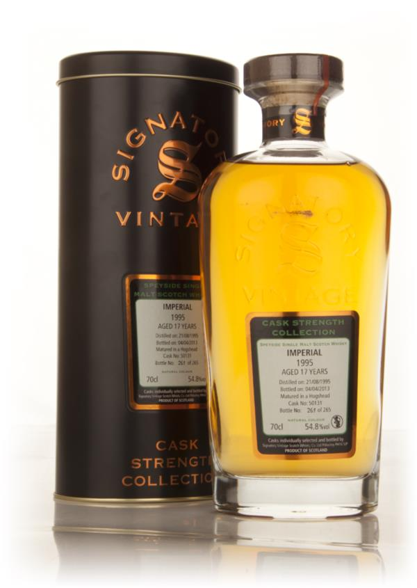 Imperial 17 Year Old 1995 (cask 50131) - Cask Strength Collection (Sig Single Malt Whisky