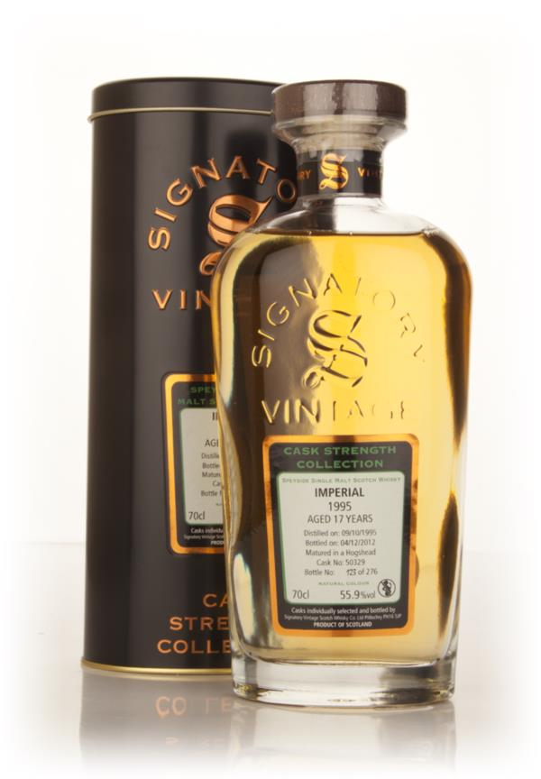 Imperial 17 Year Old 1995 (cask 50329) - Cask Strength Collection (Sig Single Malt Whisky