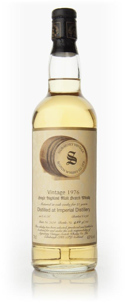 Imperial 21 Year Old 1976 (Signatory Vintage) Single Malt Whisky