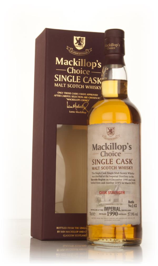 Imperial 22 Year Old 1990 (cask 11972) - Mackillop's Choice Single Malt Whisky
