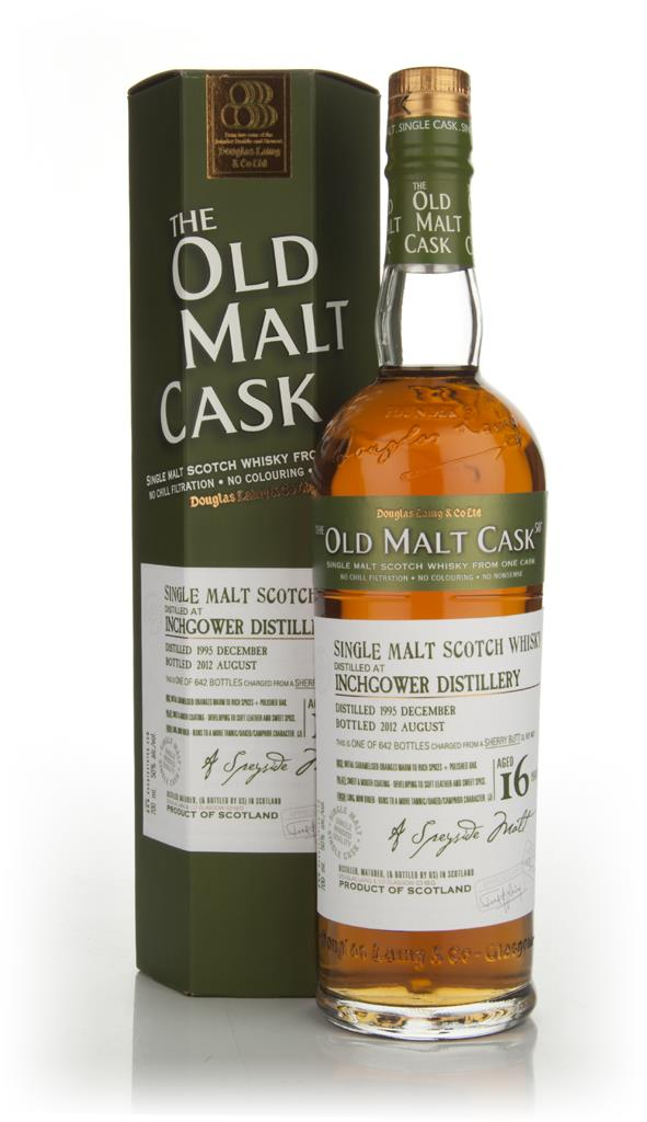 Inchgower 16 Years Old 1995 - Old Malt Cask (Douglas Laing) Single Malt Whisky