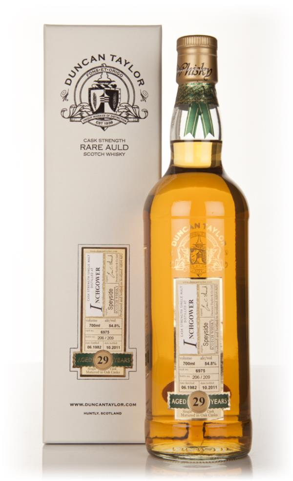 Inchgower 29 Year Old 1982 - Rare Auld (Duncan Taylor) Single Malt Whisky