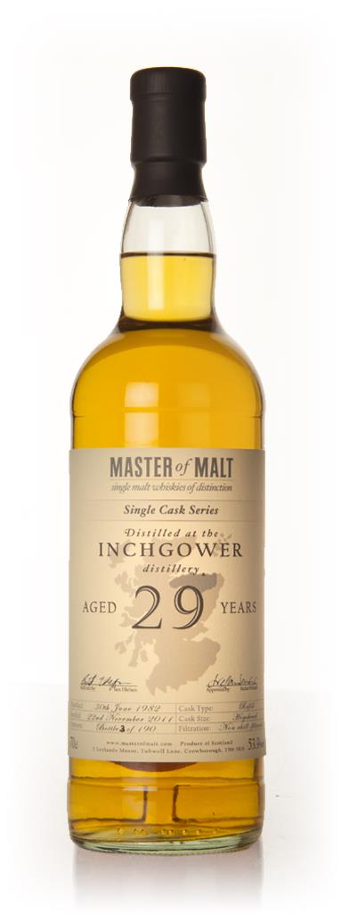 Inchgower 29 Year Old - Single Cask (Master of Malt) Single Malt Whisky