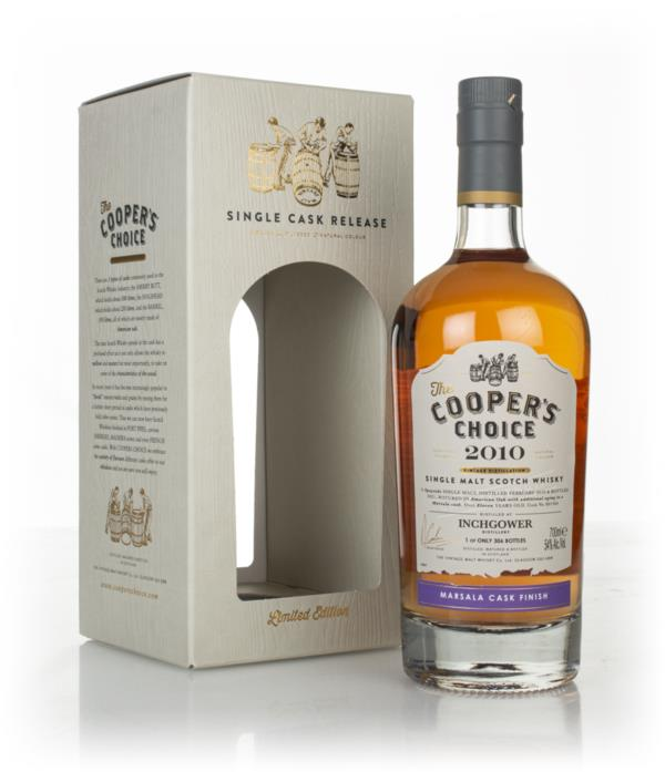 Inchgower 11 Year Old 2010 (cask 801364) - The Cooper's Choice (The Vi Single Malt Whisky