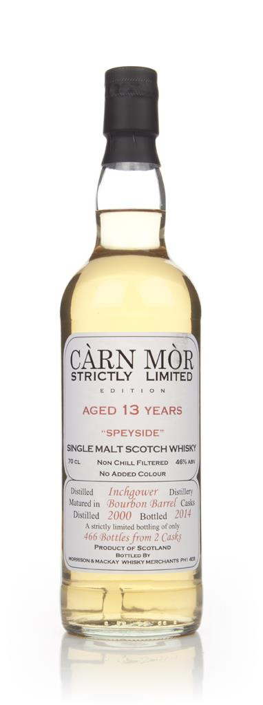 Inchgower 13 Year Old 2000 - Strictly Limited (Carn Mor) Single Malt Whisky