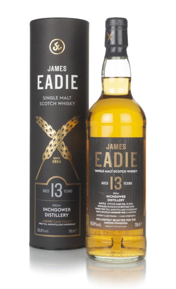 Inchgower 13 Year Old 2008 (cask 354554) - James Eadie Single Malt Whisky