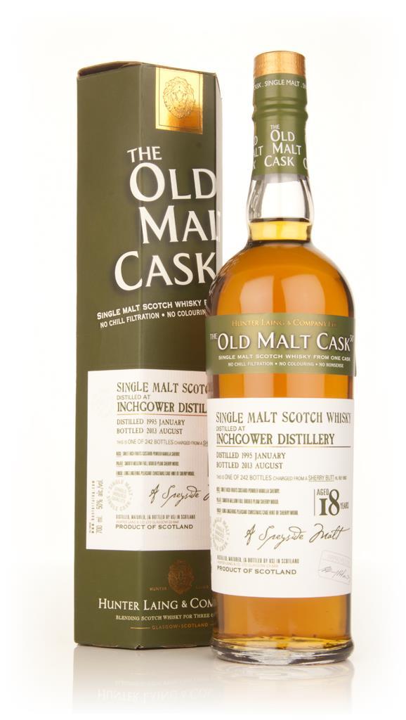 Inchgower 18 Year Old 1995 (cask 9983) - Old Malt Cask (Hunter Laing) Single Malt Whisky