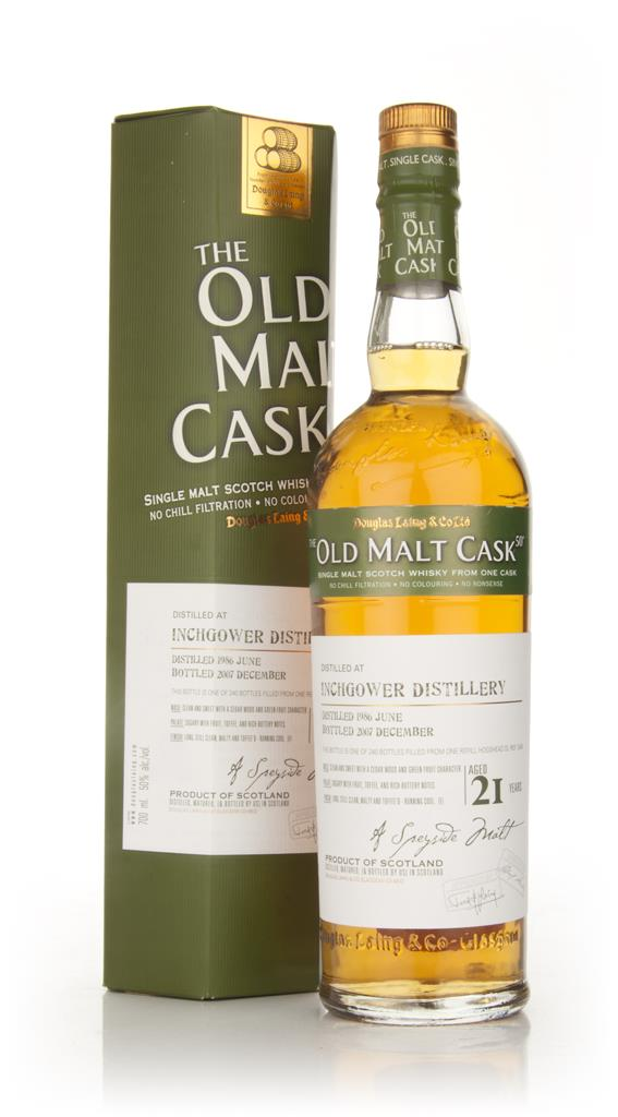 Inchgower 21 Year Old 1986 - Old Malt Cask (Douglas Laing) Single Malt Whisky