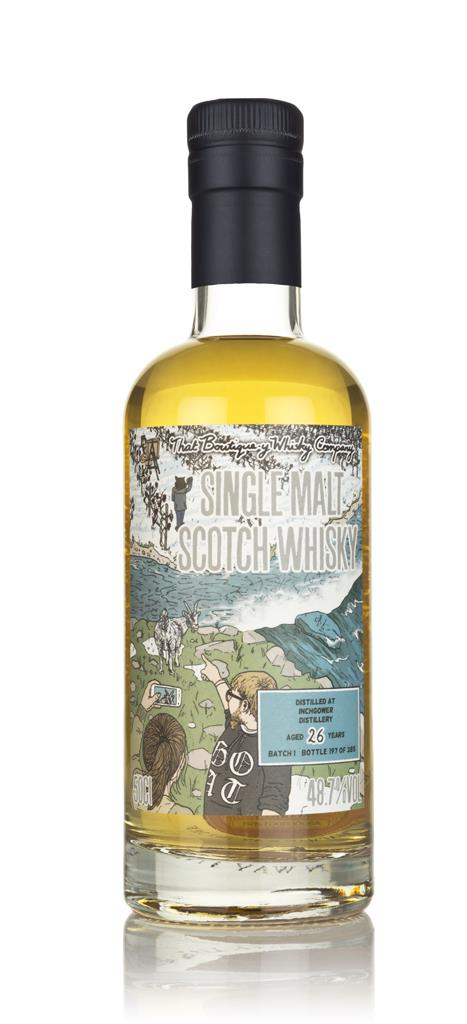 Inchgower 26 Year Old (That Boutique-y Whisky Company) Single Malt Whisky
