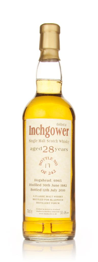 Inchgower 28 Year Old 1982 Cask 6965 (Bladnoch) Single Malt Whisky
