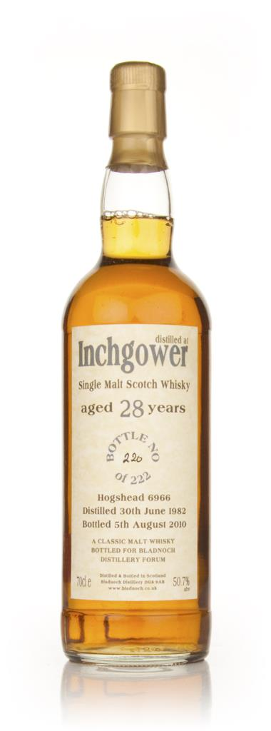 Inchgower 28 Year Old 1982 Cask 6966 (Bladnoch) Single Malt Whisky