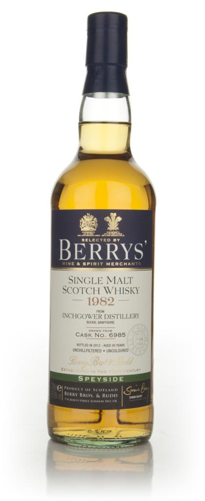 Inchgower 30 Year Old 1982 Cask 6985 (Berry Brothers and Rudd) Single Malt Whisky