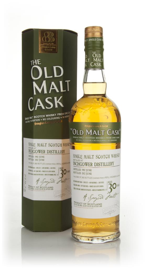 Inchgower 30 Year Old 1982 - The Old Malt cask (Douglas Laing) Single Malt Whisky