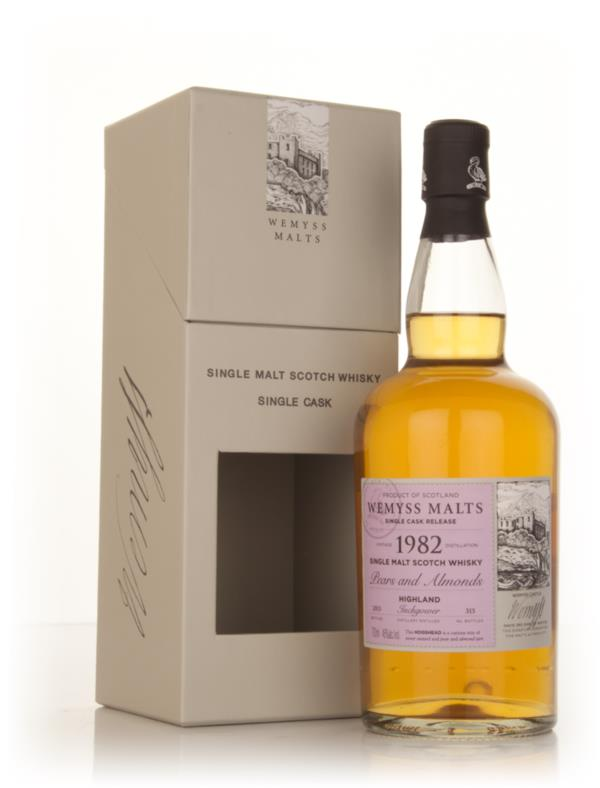 Pears & Almonds 1982 - Wemyss Malts (Inchgower) Single Barrel Whisky