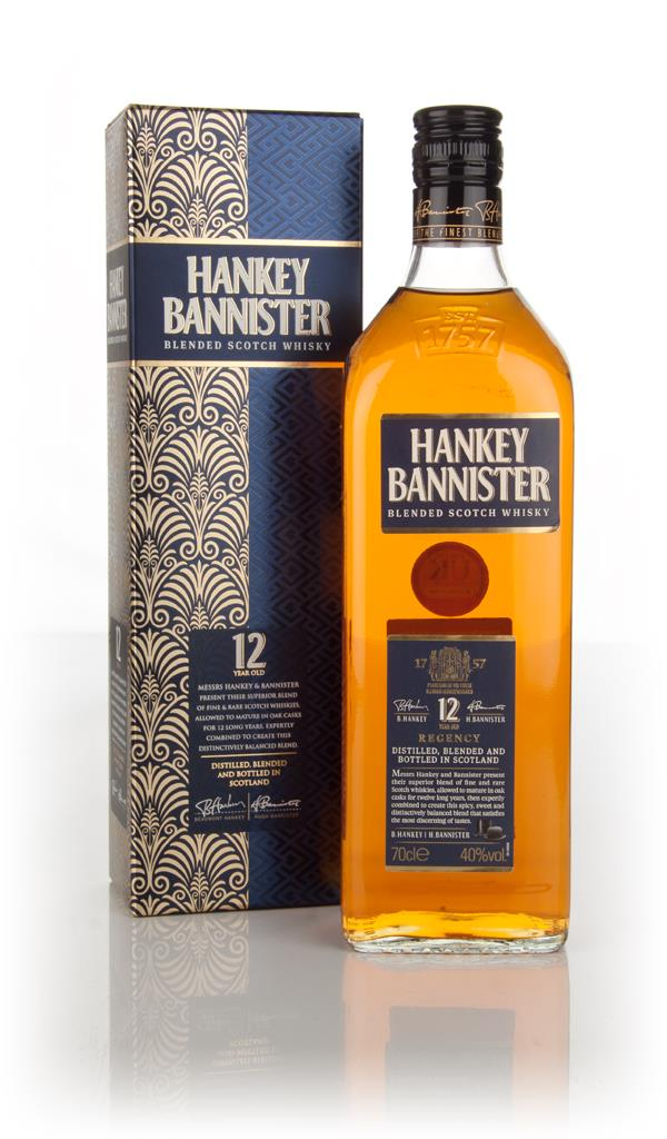 Hankey Bannister 12 Year Old Regency Blended Whisky