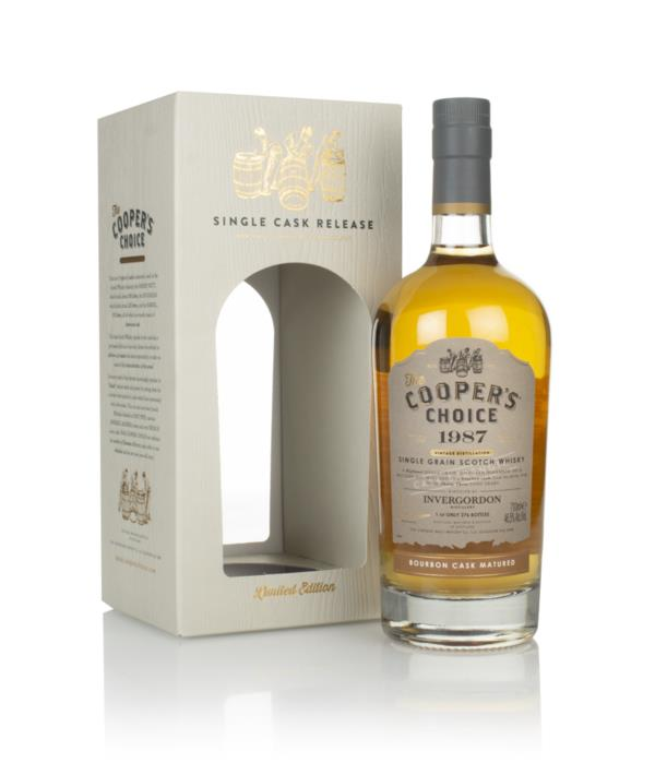 Invergordon 33 Year Old 1987 (cask 88794) - The Cooper's Choice (The V Grain Whisky