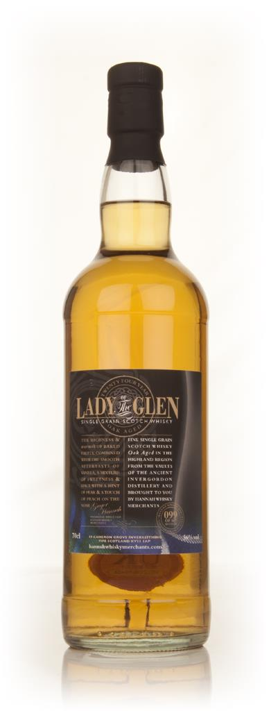 Invergordon 24 Year Old - Lady Of The Glen (Hannah Whisky Merchants) Single Malt Whisky