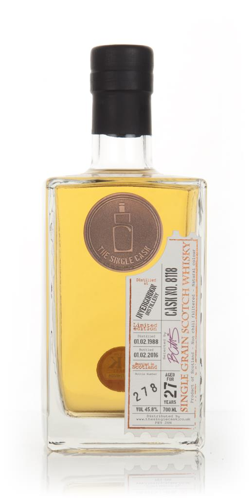 Invergordon 27 Year Old 1988 (cask 8118) - The Single Cask 3cl Sample Grain Whisky