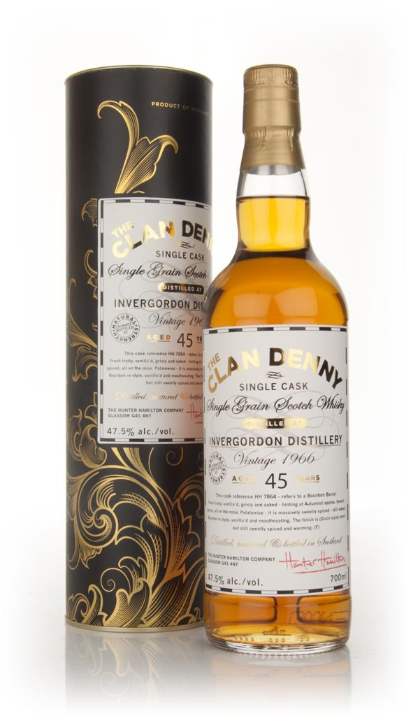 Invergordon 45 Year Old 1966 - Clan Denny Grain Whiskies (Douglas Lai Grain Whisky