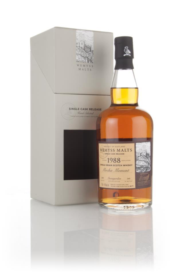 Mocha Moment 1988 (bottled 2015) - Wemyss Malts (Invergordon) 3cl Samp Grain Whisky 3cl Sample