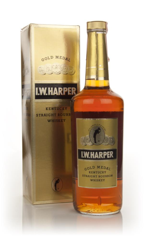 I.W. Harper Gold Medal - 1980s Bourbon Whiskey