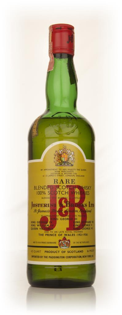 J&B Rare - 1960s Barbera Whisky