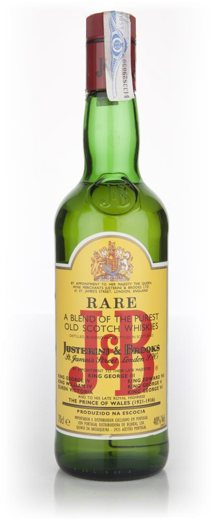 J&B Rare - 1990s Blended Whisky