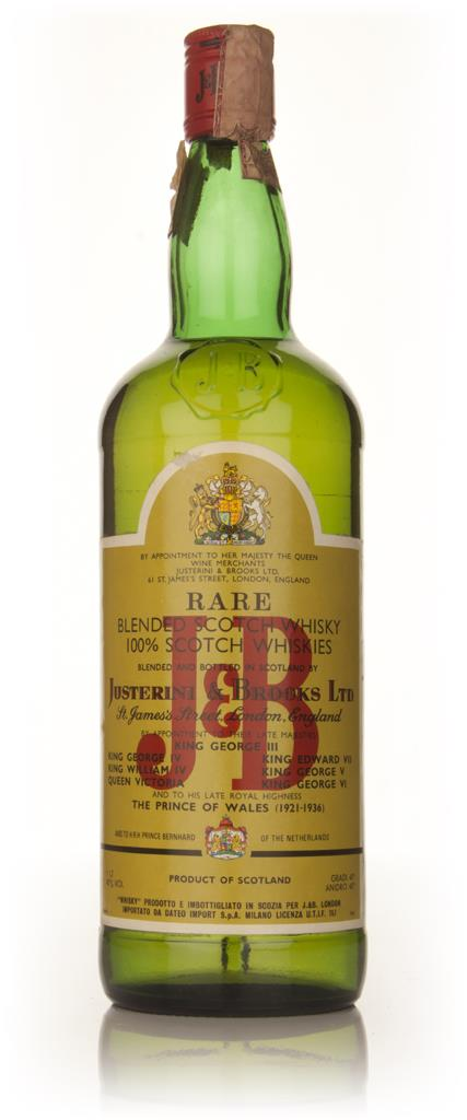 J&B Rare 1l - 1980s Blended Whisky