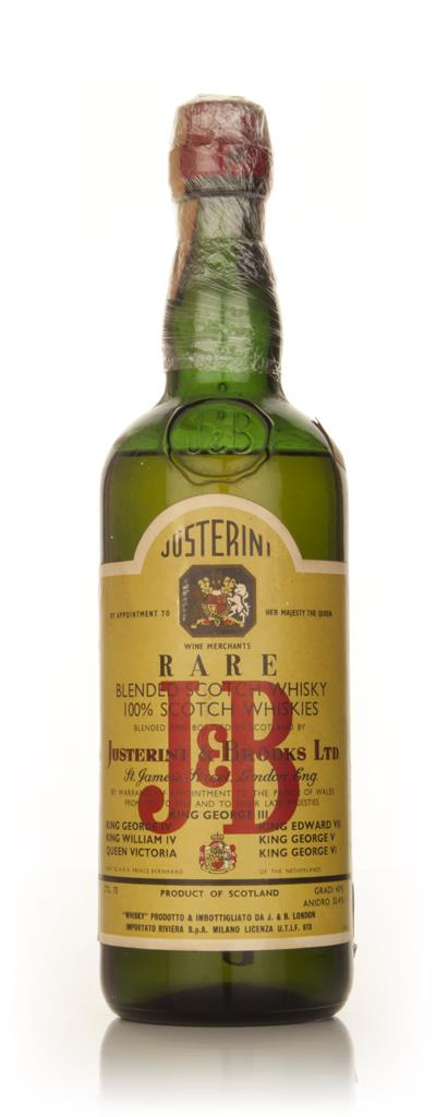 J&B Rare Blended Scotch Whisky - 1950s Blended Whisky