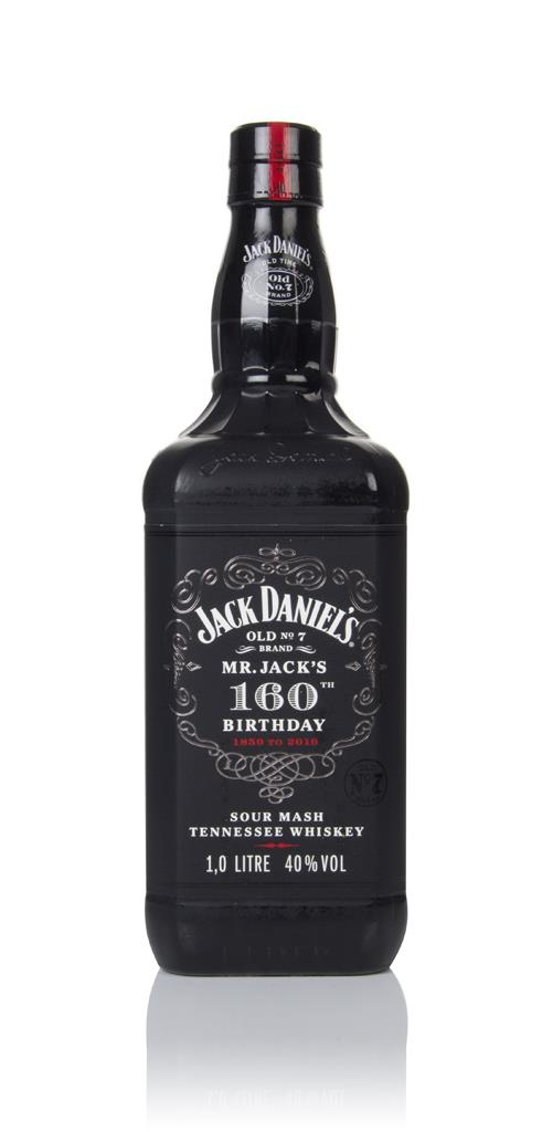 Jack Daniels 160th Birthday 1850-2010 Tennessee Whiskey