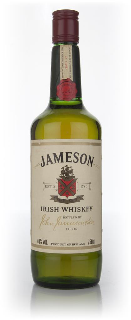 Jameson Irish Whiskey (Old Bottle) Blended Whiskey
