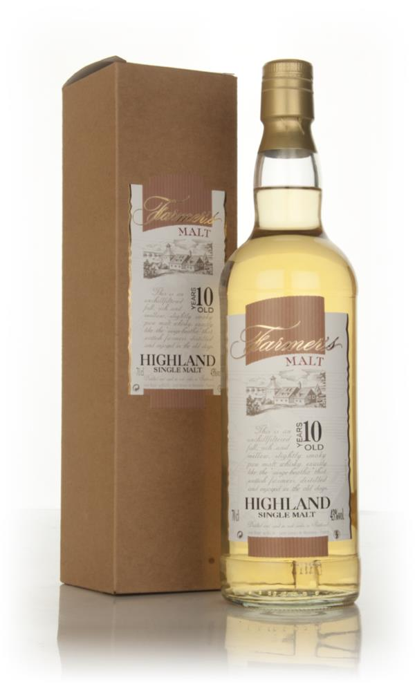 Farmers Malt Highland 10 Year Old (Jean Boyer) Single Malt Whisky