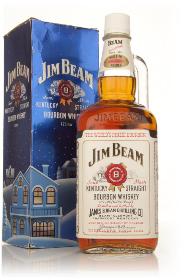 Jim Beam 4 Year Old - Early 1980s Bourbon Whiskey