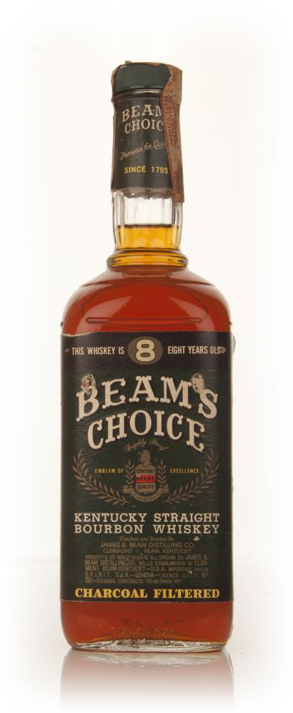 Jim Beam Beams Choice 8 Year Old Bourbon - 1979 Bourbon Whiskey