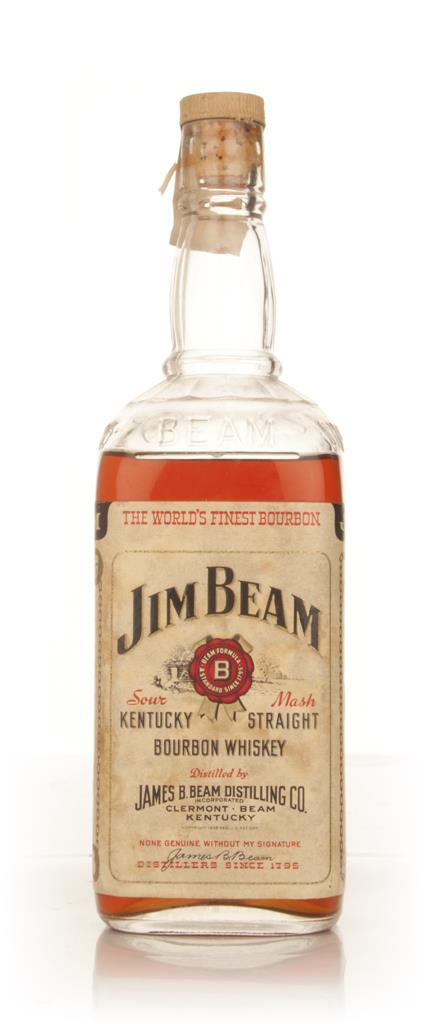 Jim Beam White Label - 1959 Bourbon Whiskey