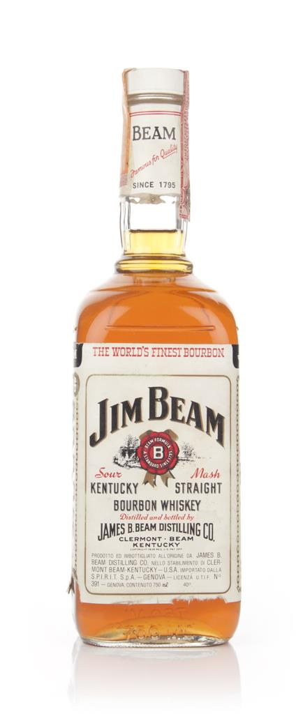 Jim Beam White Label - 1979 Bourbon Whiskey