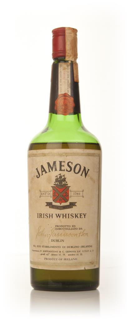 Jameson Irish Whiskey - 1960s Blended Whiskey