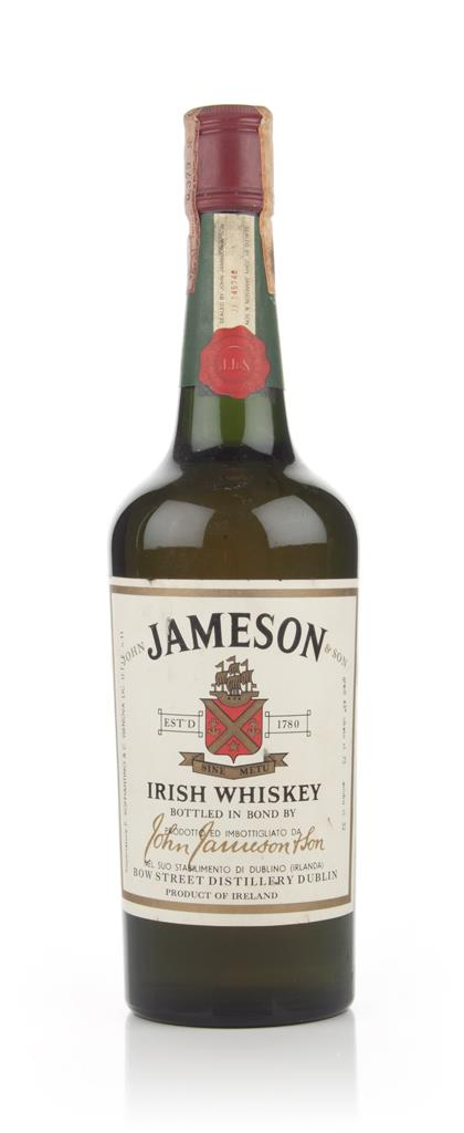 Jameson Irish Whiskey 43% -1970s Blended Whiskey