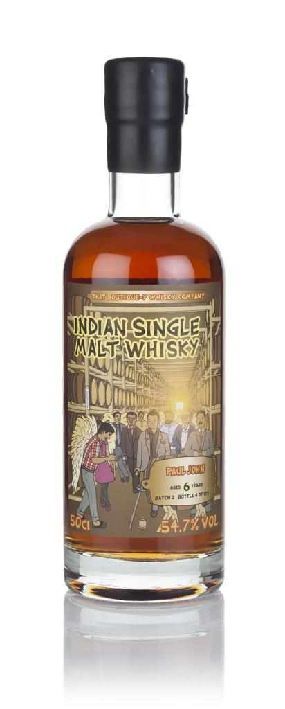 Paul John 6 Year Old - Batch 2 (That Boutique-y Whisky Company) 3cl Sa Single Malt Whisky 3cl Sample