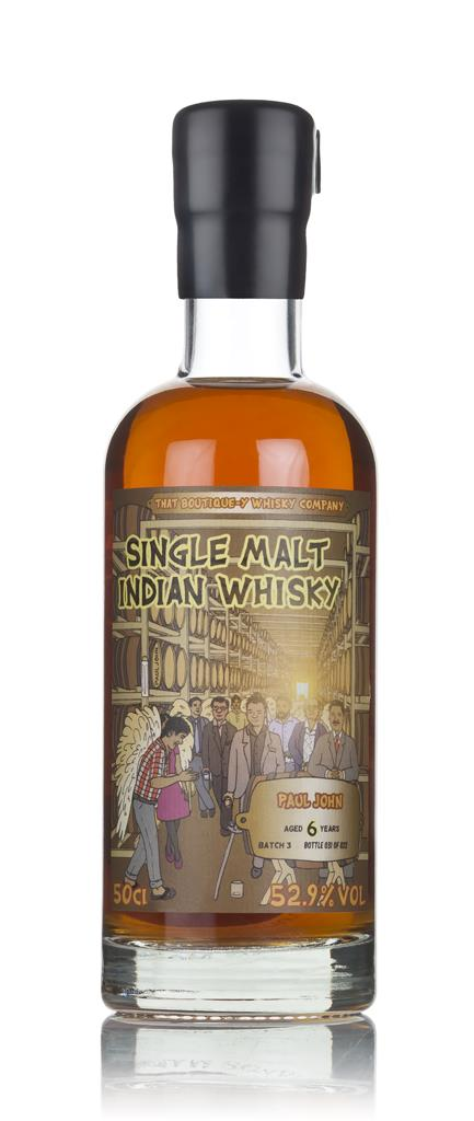Paul John 6 Year Old (That Boutique-y Whisky Company) 3cl Sample Single Malt Whisky