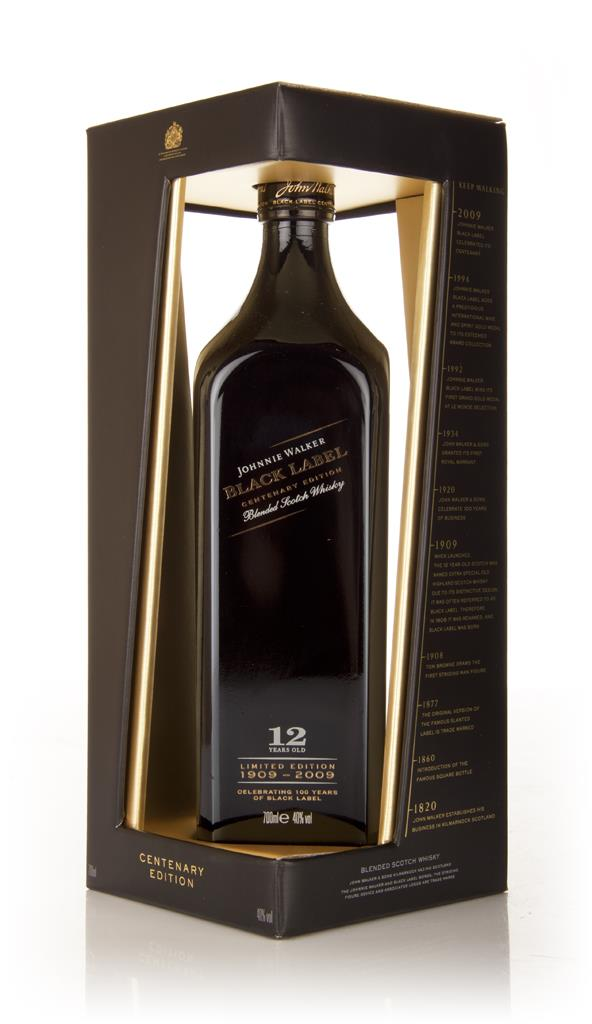 Johnnie Walker Black Label 12 Year Old 100th Anniversary Edition Blended Whisky