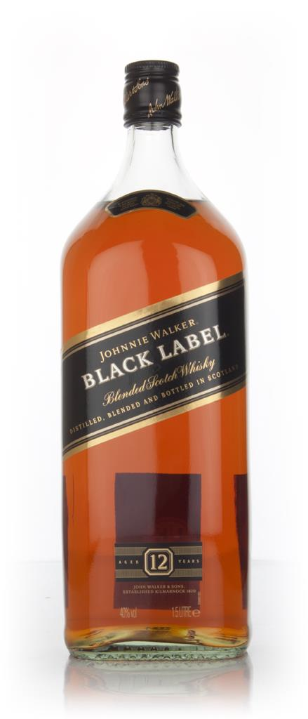 Johnnie Walker Black Label 12 Year Old 1.5l Blended Whisky