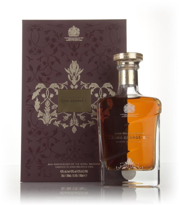 John Walker & Sons King George V - Royal Warrant 80th Anniversary 3cl Blended Whisky 3cl Sample