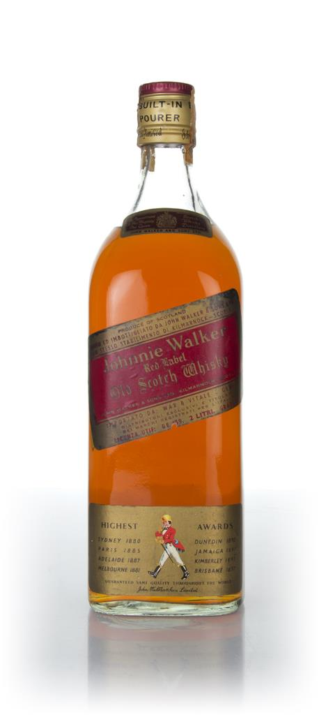 Johnnie Walker Red Label - 1970s Blended Whisky