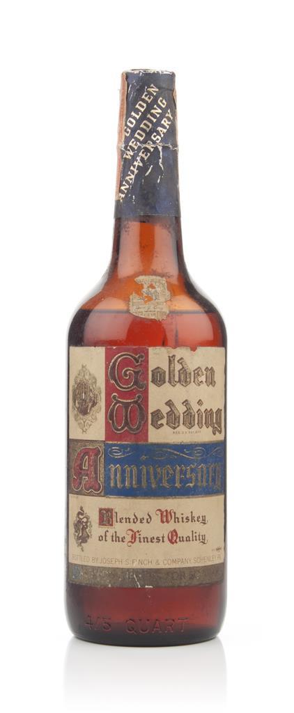 Golden Wedding Anniversary - 1940-50s Blended Whiskey