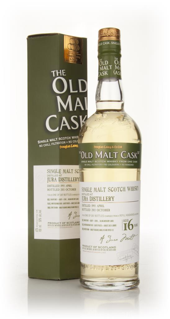 Jura 16 Year Old 1995 - Old Malt Cask (Douglas Laing) Single Malt Whisky