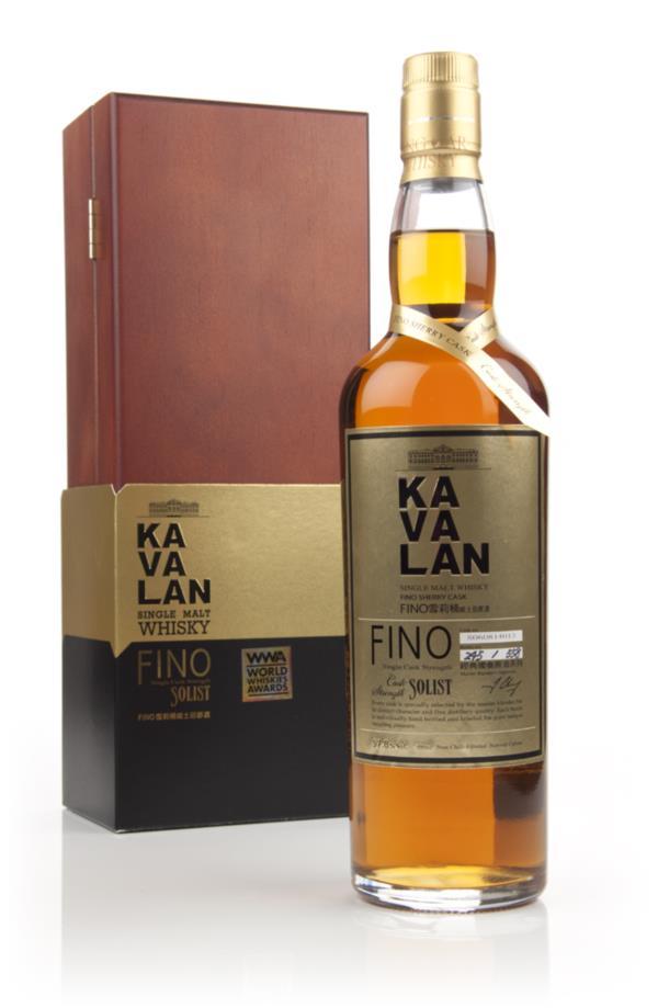 Kavalan Solist Fino Sherry Cask 57.8% Single Malt Whisky
