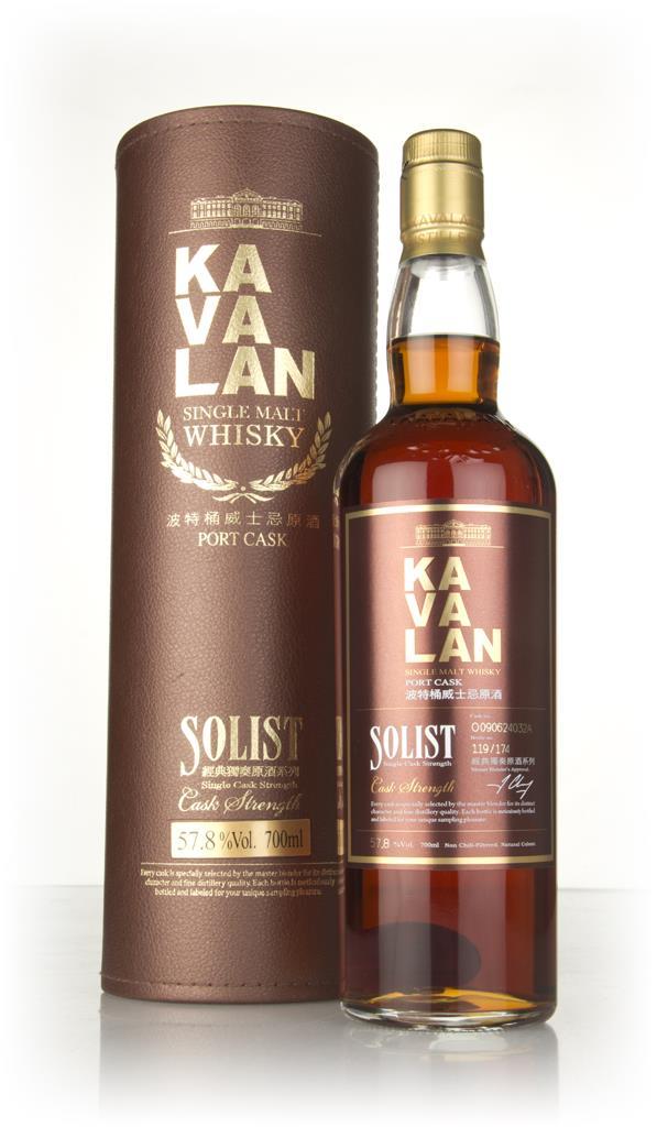 Kavalan Solist Port Cask 3cl Sample Single Malt Whisky