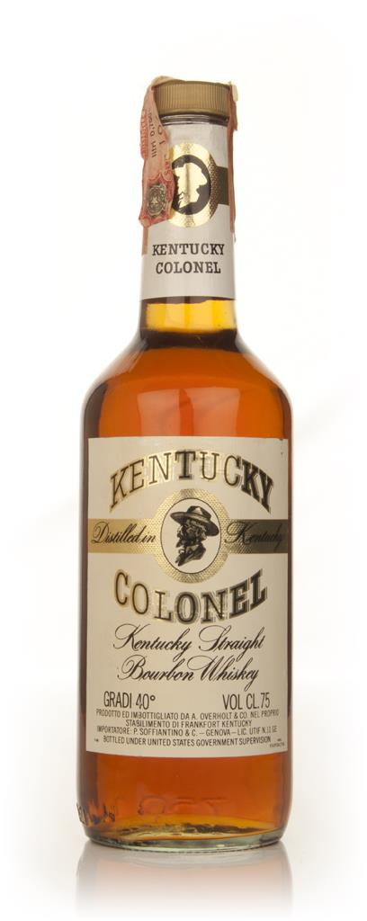 Kentucky Colonel - 1970s Bourbon Whiskey